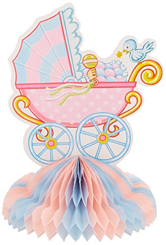 Beistle 55226 Baby Shower Centerpiece, 10-Inch