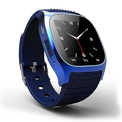 AINGOL Reloj Inteligente Mujer Hombres Bluetooth altímetro ...
