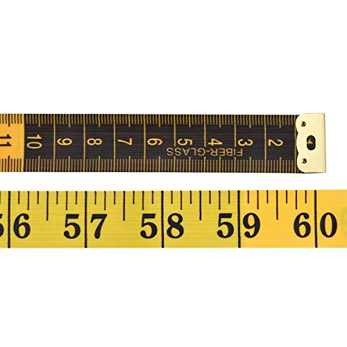 eBoot Soft Tape Measure for Sewing Tailor Cloth Ruler Yellow