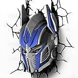 hotcoser® Transformers Optimus Prime Autobot 3D FX Deco Wall Light Room LED Nightlight