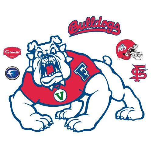 NCAA Fresno State Bulldogs Logo Wall Graphic