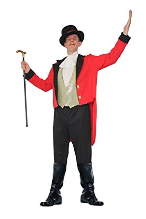 Adults Greatest Showman Ringmaster Circus Fancy Dress Movie Costume
