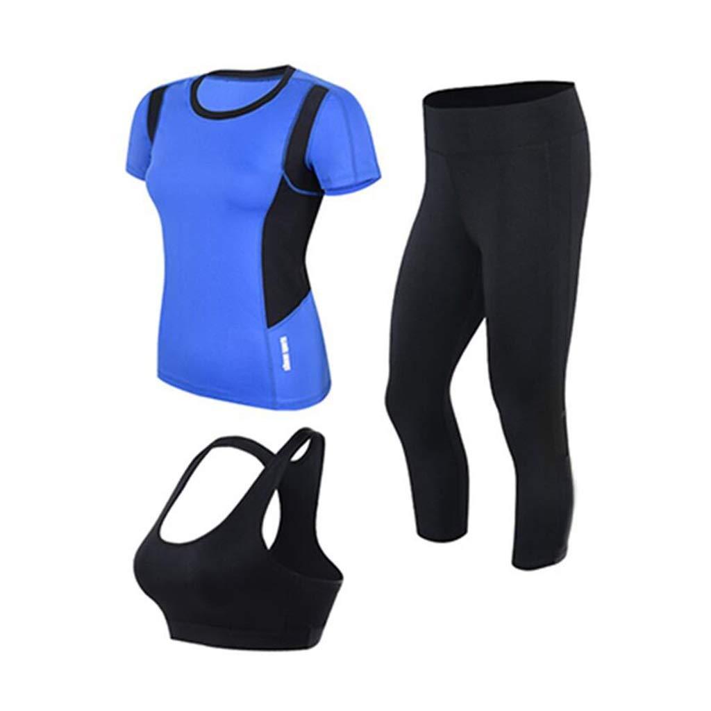 TD Yogakleidungsanzug Weiblich Laufbekleidung Frühling Und Sommer Sportbekleidung Schnell Trocknend (größe : M)