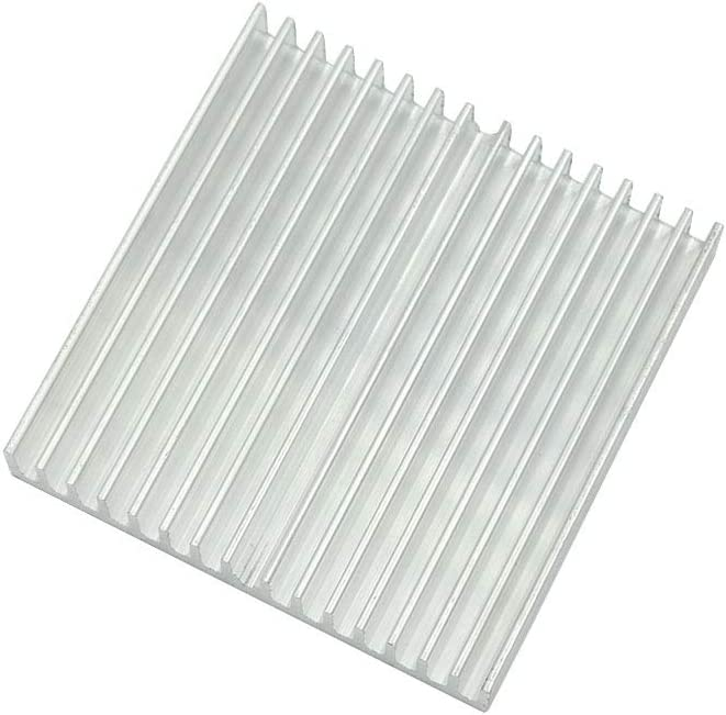 BokWin 90x90x15mm Aluminum Heat Sink Heatsink Module Cooler Fin for High Power Transistor Semiconductor Devices 1Pc