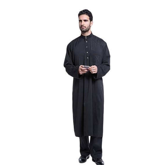 Haodasi Men Muslim Arabic Style Clothing Thobe Robe Dress Costumes  Garment 805  Amazon.co.uk  Clothing a53145235
