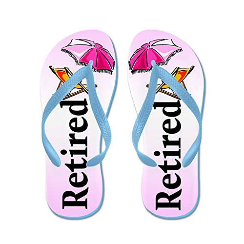 4ef71693360cc4 CafePress - Retired Beach - Flip Flops