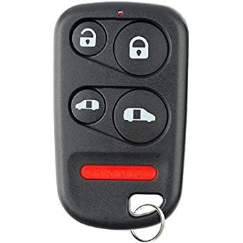 2 Replacement for Honda 2001-2004 Odyssey LX EX Remote Car Key Fob 5b Shell Case