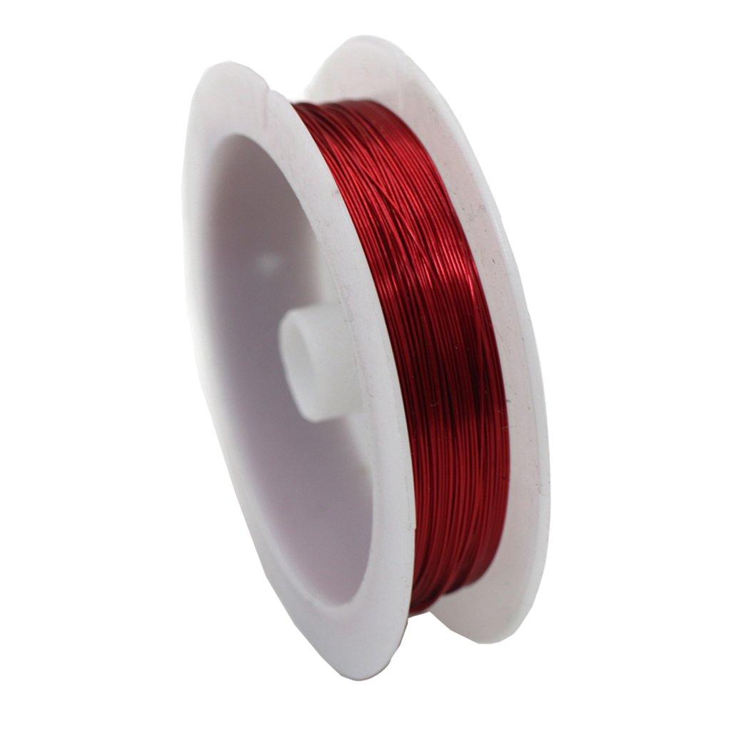 D DOLITY 10m Stringa Fili di Metallo per Creazione Gioielli Monili DIY - Verde