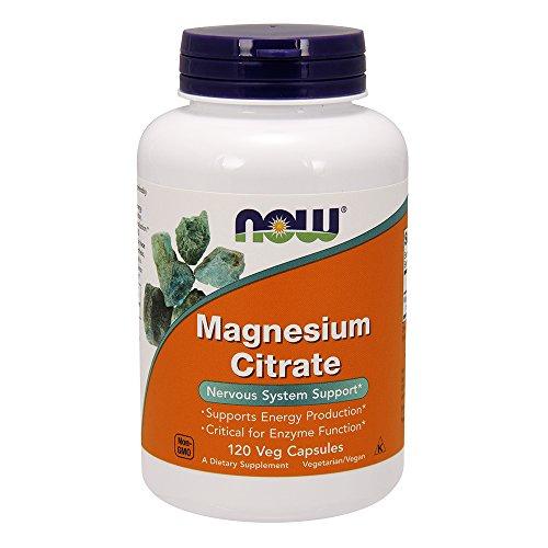 NOW Magnesium Citrate Milligram Capsules product image