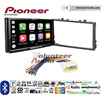 Volunteer Audio Pioneer AVH-W4400NEX Double Din Radio Install Kit with Wireless Apple CarPlay, Android Auto, Bluetooth Fits 1998-2002 Honda Accord, 1999-2005 Honda Civic (Excludes Si Models)