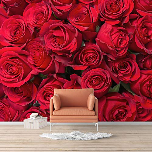Wall Mural Elegant Rose Flower Floral Photo Removable