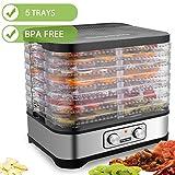 Best Meat Dehydrators - Hauture Food Dehydrator Machine, Food Dryer for Jerky/Meat/Beef/Fruit/Vegetable Review