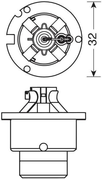 Lampa 58263/Lampe Xenon D6S