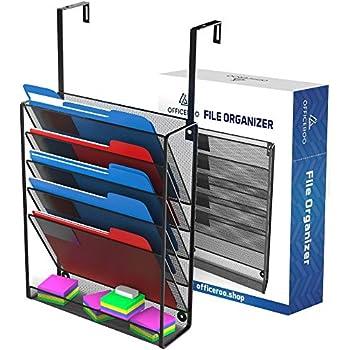 hanging organizer cubicle file holder wall mount office cubical partition folder. Black Bedroom Furniture Sets. Home Design Ideas
