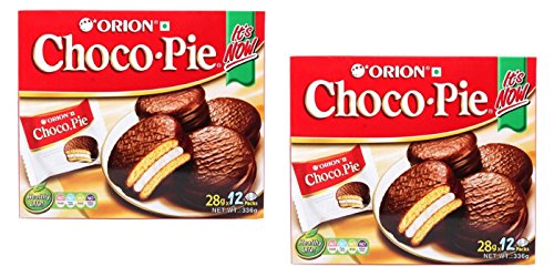 2 Boxes Orion Choco Pie with Marshmallow Cream 24 Packs from ORION