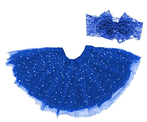 Dancina Costume Easter Tutu Set 6-24 Months Royal Blue -
