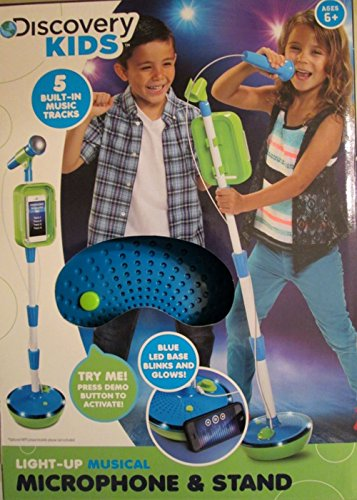 Discovery Kids Light Up Musical Microphone product image