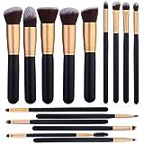 Best makeup brush set for beginner - 14 Pcs Makeup Brushes Set Kabuki Foundation Contour Review