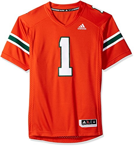 adidas Adult Men #1 Replica Football Jersey, Orange, Medium ()