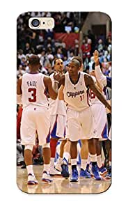 Awesome NbIags-3307-irbdU Dreaminghigh Defender Tpu Hard Case Cover For Iphone 6- Los Angeles Clippers Basketball Nba (20)