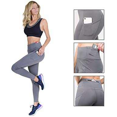 6499477646b0 Image Unavailable. Image not available for. Color  Volarium High Waisted  Leggings with Pockets  Yoga Pants for Women
