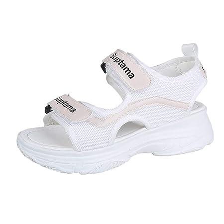 Mealeaf - Zapatos Planos de Verano para Mujer, Deportivos, neutros ...