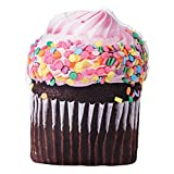 The Paragon Cupcake Pillow - Novelty Cupcake Shaped Pillow, Lifelike Design, Realistic, Mouthwatering Cushion