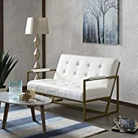 INK+IVY Waldorf Loveseat White See below
