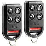 Keyless Entry Remote Car Key Fob fits 2005 2006 2007 2008 2009 2010 Honda Odyssey OUCG8D-399H-A 5-button (2 Remotes)