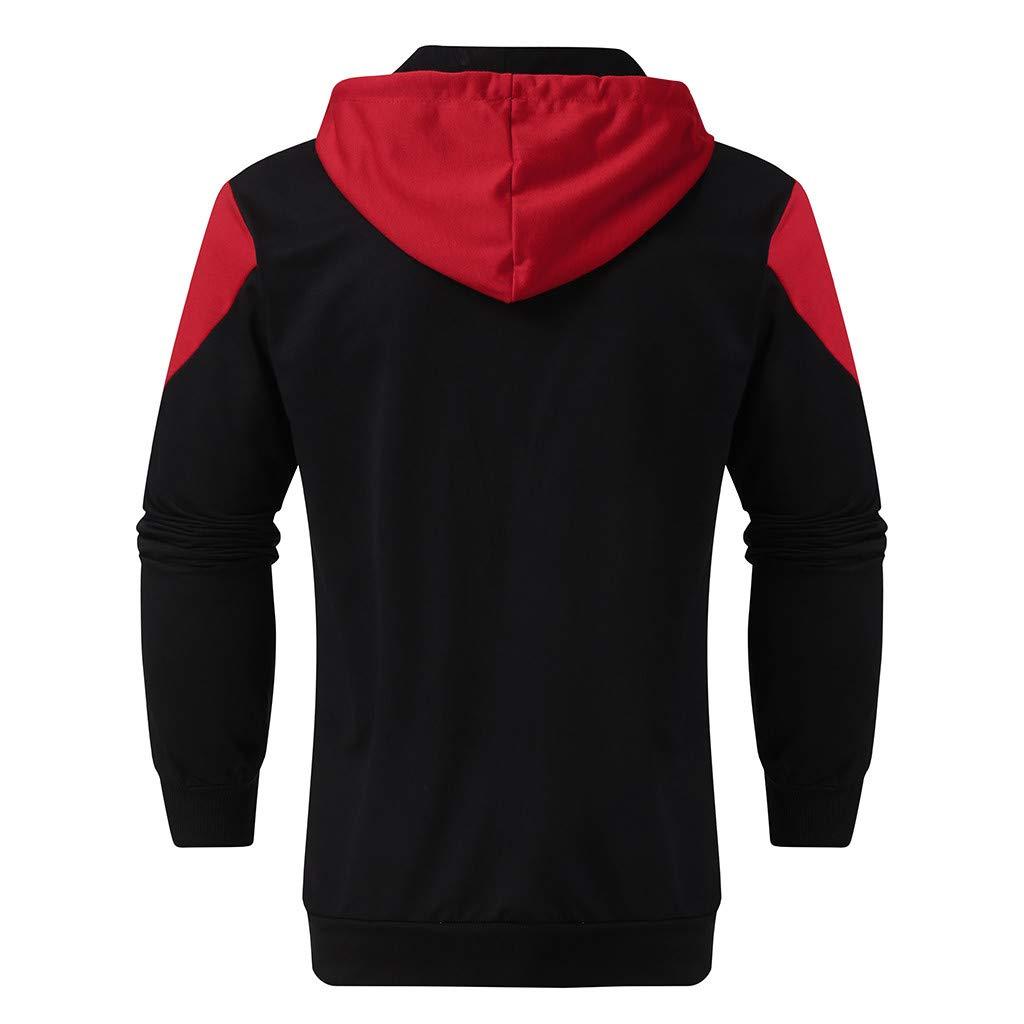 2019 Mens Jogging Tracksuit Sportswear Casual Joggers Set Hoodie Sweatshirt+Pants Sweatpants by-Leegor