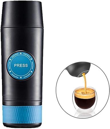 XDLYM Mini cafetera portátil, máquina de café Espresso de Calentamiento eléctrico, 18 Bar, Compatible con Nespresso Cápsula de la Misma especificación, para Viajes, automóvil, hogar: Amazon.es: Hogar
