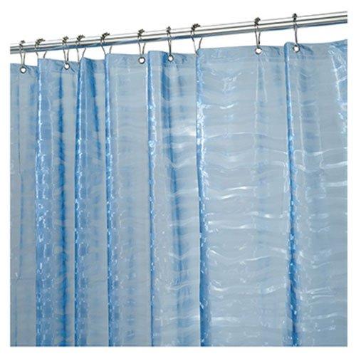 InterDesign Ripplz 70 Inch 72 Inch Curtain