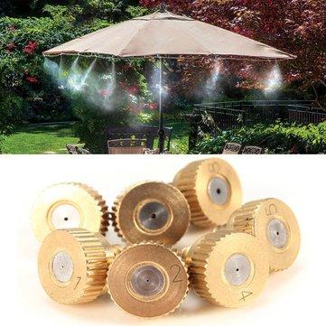 brass atomization nozzles garden cooling