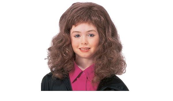 Rubies Costume Co 31315 Harry Potter - Hermione Granger Peluca Infantil: Amazon.es: Ropa y accesorios