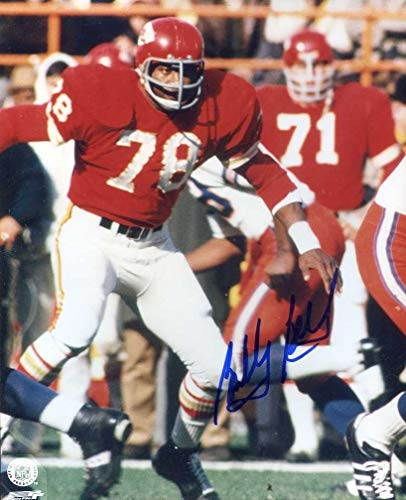 Bobby Bell (HOF) Autographed/Original Signed 8x10 Color Action-photo w/the Kansas City Chiefs - He Was in Super Bowl IV