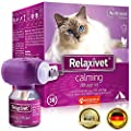 Relaxivet Dogs & Cats Calming Diffuser + Refill - New Improved Anti-Stress Formula Natural Anti-Anxiety Treatment #1 with a Long-Lasting Calming Effect