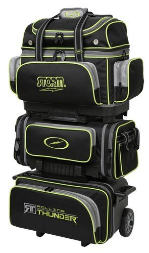 6 Ball Roller Bowling Bag - 3