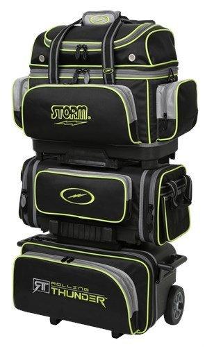 83a71913d9 Amazon.com   Storm Rolling Thunder 6 Ball Bag Black Grey Lime ...