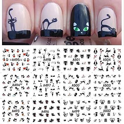 pegatinas uñas puma