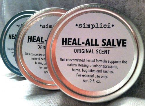 Лечение-All Salve Value Pack (3 Банки для 6 Всего унций).