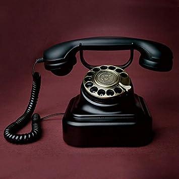 Teléfonos retro tocadiscos High-End radio creativa continental ...