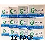 12pk - Neutral Soap - Jabon Neutro - Grisi (3.5 Oz. X 12 Units) by Grisi