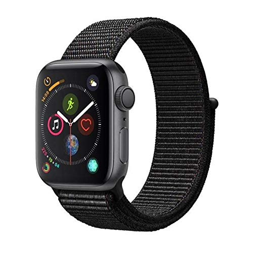 Apple Watch Series 4, 40 mm, Alumínio Cinza Espacial, Pulseira Esportiva Loop...