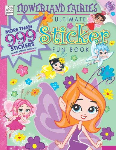Download Flowerland Fairies Ultimate Sticker Fun Book pdf