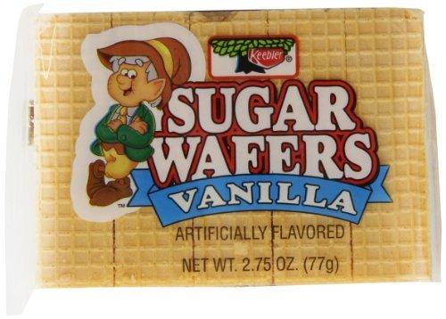 Keebler Sugar Wafers - 2.75 oz. - 24 - Sugar Wafer Cookies