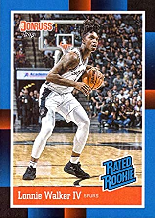 2018-19 Panini Instant  RR16 Lonnie Walker IV Rated Rookie Basketball Card  - 1988 1bdef0957