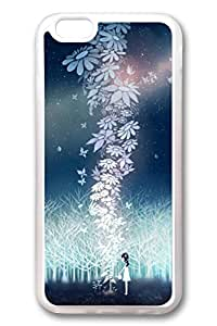 iPhone 6 Cases, Personalized Protective Case for New iPhone 6 Soft Clear Edge I Like Night
