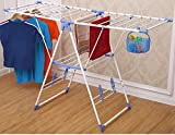 GTC Indoor/Outdoor Cloth Drying Stand, Cloth Dryer Stand , Drier Stand -( IT N - 2067 ) (Blue)