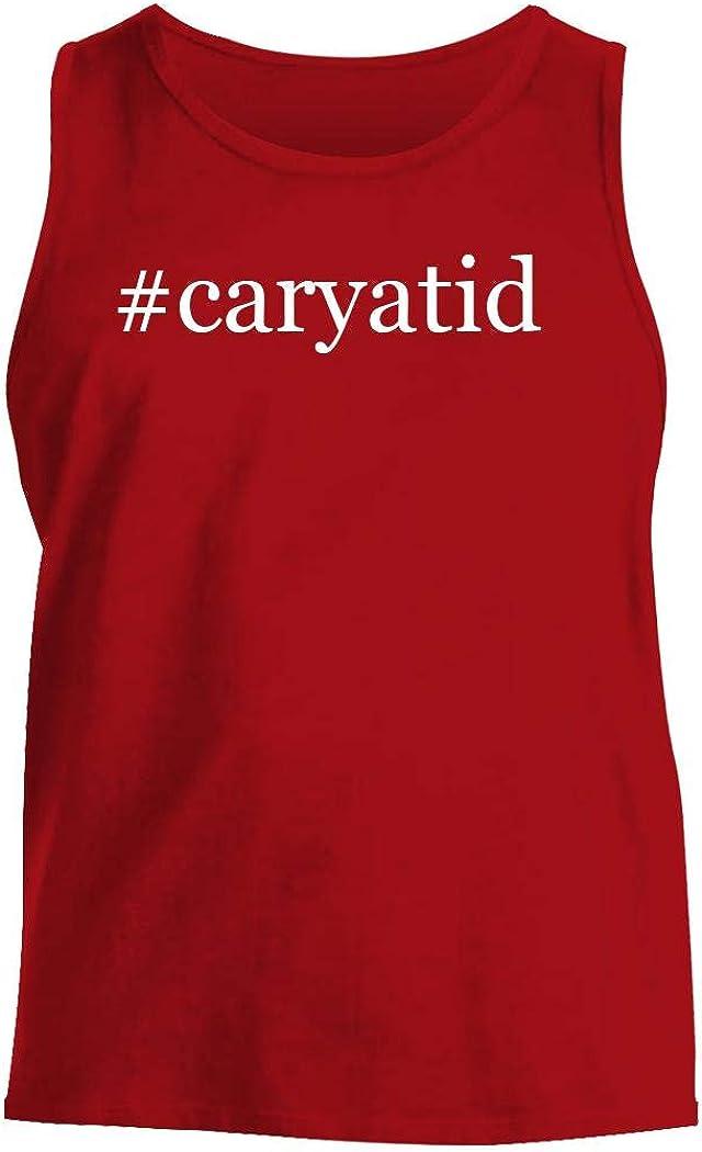 #caryatid - Men's Hashtag Comfortable Tank Top, Red, Large
