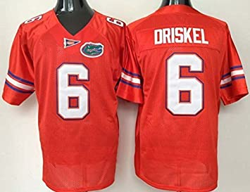 reputable site f3616 a86d5 MC Jersey Men's Florida Gators Jeff Driskel #6 College ...